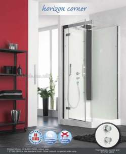 Saniflo Kinedo Shower Cubicles -  Horizon 800 X 800 Corner Thermo 3236