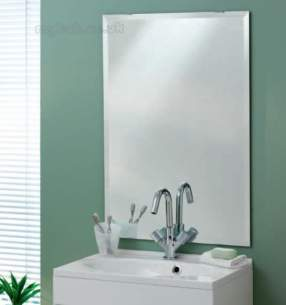 Eastbrook Accessories -  3081 Calypso Plain Mirror 555 X 1000mm