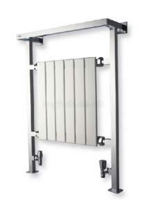 Myson Melody Towel Warmers -  Myson Champlain 1 Chrome Ada1