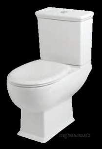 Eastbrook Sanitary Ware -  Eastbrook 27.0581 Cheltenham Wc Pan White