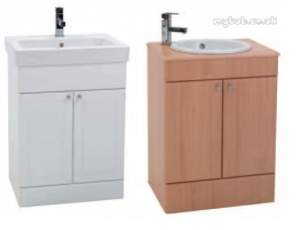 Eastbrook Furniture -  34.0118 New Classic 600 Vanity Unit