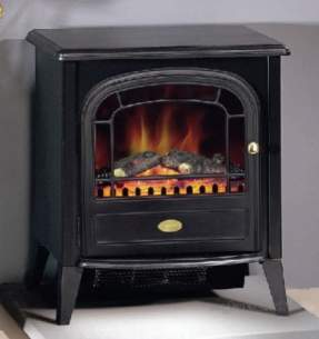 Dimplex Electric Fires -  Dimplex Club Optiflame Stove M/bl Clb20r