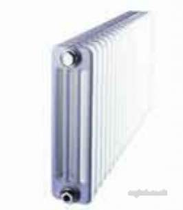 Clyde Cast Iron and Steel Radiators -  Tesi Tc600/2 600mm X 1215mm 27s Steel Rad