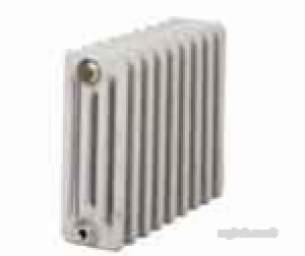 Clyde Cast Iron and Steel Radiators -  Windsor W500/70 580mm X 544mm 9s Ci Rad