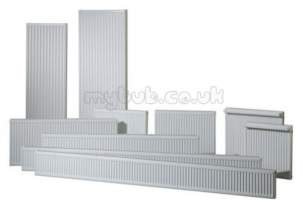 Stelrad Compact Radiators -  Compact 450mm X 90 Sec P Plus 3000mm 10799b