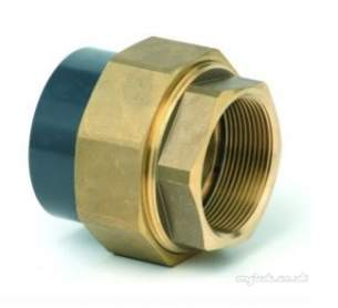 Durapipe Pvc Fittings 1 14 and Above -  Durapipe Upvc Com/un Pl/mi Brass 217107 2