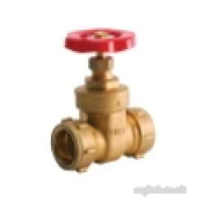 Ibp Conex Compression Fittings -  Conex 1001 42mm Wh Cxc Gate Valve