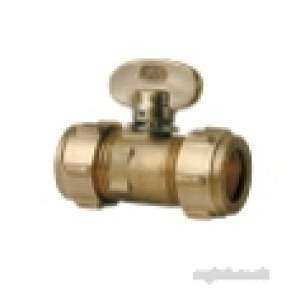 Ibp Conex Compression Fittings -  Conex 1501 15mm C X C Plug Cock Ee-1021501