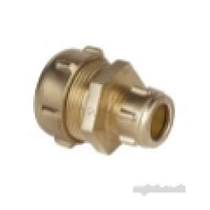 Ibp Conex Compression Fittings -  Conex 301 22mm X 15mm Str Coupling