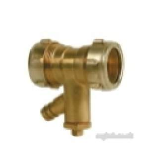 Ibp Conex Compression Fittings -  Conex 301da 22mm Str Coupling Plus Mt