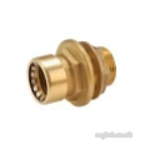 Ibp Conex Cuprofit Push Fit Fittings -  Ibp Conex Ibp Pushfit Tank Conn 22x3/4