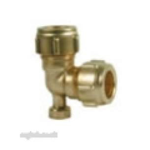 Ibp Conex Compression Fittings -  Conex 401v 15mm Elbow Plus Air Vent