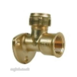 Ibp Conex Compression Fittings -  Conex 403wl 15mm X 1/2 Inch Fi Wallplte Elbow