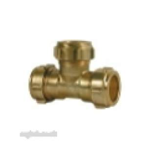 Ibp Conex Compression Fittings -  Conex Dzr S601eq 54mm Equal Tee Nnn2020601eq
