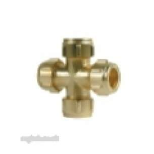 Ibp Conex Compression Fittings -  Ibp Conex Conex 901 15mm Equal Cross