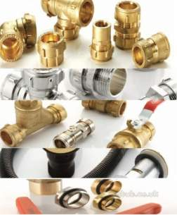 Ibp Conex Compression Fittings -  Conex 301cp Cp 42mm Str Coupling