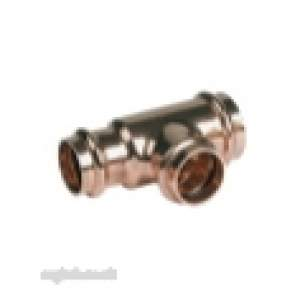 Ibp B Press Crimp Fittings -  Ibp B-press P27 28x22x15mm Red Tee