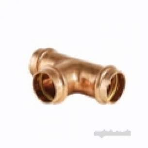 Ibp B Press Crimp Fittings -  Conex B Press 42mm Equal Tee-gas