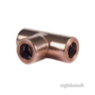 Ibp Conex Cuprofit Push Fit Fittings -  Ibp Cuprofit 10mm Equal Tee R130