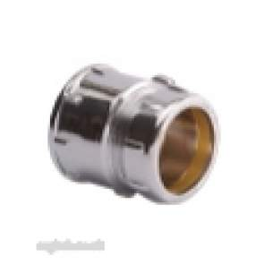 Ibp Conex Compression Fittings -  Conex S303sfcp Chrome Plated 22mm X 3/4 Inch Swivel Fi St