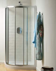 Trevi Shower Enclosures -  Ideal Standard Connect L8090ac Quadrnt 900 And Infill Frame