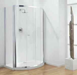 Coram Optima Shower Enclosures -  Coram Optima 700mm Side Panel Ch/mod1