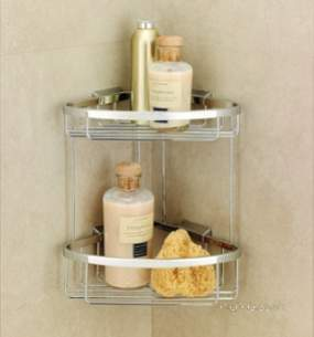 Coram Walk In and Accessories -  Coram Double Corner Basket Large
