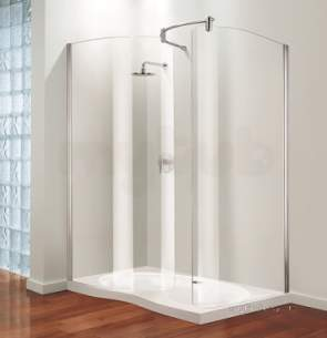 Coram Premier Shower Enclosures -  Coram Tube 1500 Premier W/in Front Panel Ps/cl
