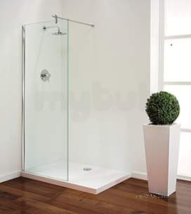 Coram Walk In and Accessories -  Tube Bespoke Shower Panel Width 901 To 1200mm Height Up To 2000mm