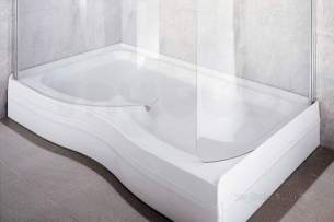 Coram Waterguard Shower Trays -  Coram 1500x900 Walk In Tray Riser Kit