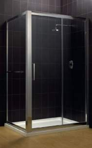 Eastbrook Showers -  38.216 Cotswold Corniche 1700 Slider Sil
