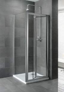 Eastbrook Showers -  58.406 Volente 760 Side Panel Silver