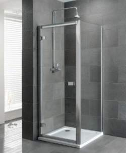 Eastbrook Showers -  58.306 Volente 760 Hinge Door Silver