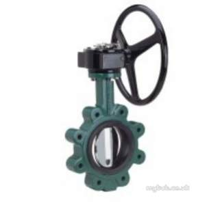 Crane General Valves -  Crane Dm925g Double Reg B/fly Valve 250