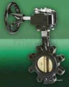 Crane General Valves -  Crane Dm925l Double Reg B/fly Valve 100