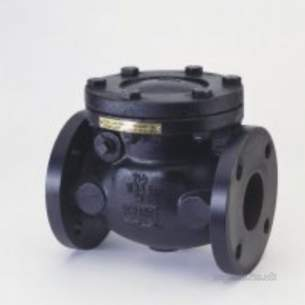 Crane General Valves -  Crane F491 Bste Cast Iron Check Valve 200