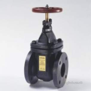 Crane General Valves -  Crane F52 Bstd Cast Iron Gate Valve 125