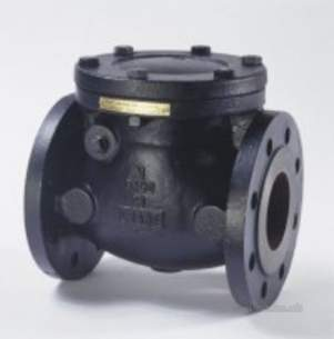 Crane General Valves -  Crane Fm492 Pn16 Cast Iron Check Valve 80