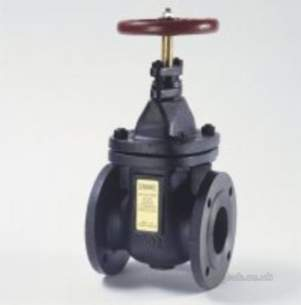 Crane General Valves -  Crane Fm52 Pn6 Cast Iron Gate Valve 200