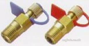 Crane Valve Spares and Accessories -  Crane P84 Red Pressure Test Point 8