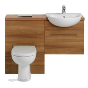Ideal Standard Create Furniture -  Ideal Standard Create E3323 Wc Unit 600mm Walnut