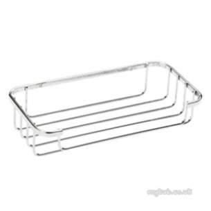 Croydex Bathroom Accessories -  Stainless Steel Cosmetic Basket Qm390641