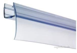 Croydex Shower Sets and Accessories -  Bathscreen Rigid Wiper Seal 4-6mm Glass
