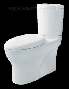 Eastbrook Sanitary Ware -  Eastbrook 56.0010 Curva Seat White