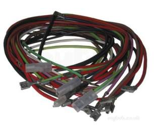Heatrae Spares and Accessories -  Heatrae 95612586 Wire Set 185 215 Ltr