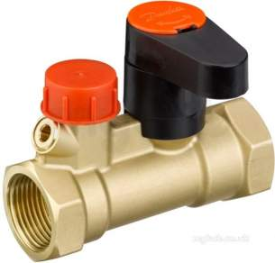 Danfoss Manual Hydronic Balancing Valves -  Danfoss Msv-s Dzr Isolating Drain Valve 25