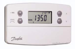 Danfoss Randall Domestic Controls -  Danfoss Tp7000rf Prog Room Stat Plus Bi Sen