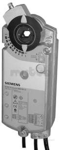 Landis and Staefa Control Systems -  Siemens Gbb 166 1e 0-10vdc 20n/m Act Aux Sw