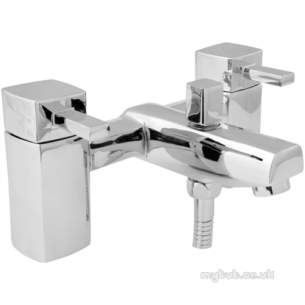 Deva Brassware -  Deva Rub106 Rubic Bath Shower Mixer Cp