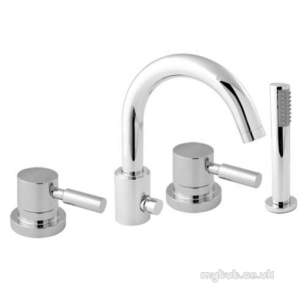 Deva Brassware -  Deva Vision 4th Bath Shower Mixer